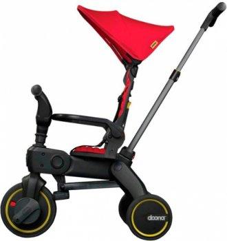 Складной трехколесный велосипед Doona Liki Trike S3 Flame Red (SP530-99-031-015)