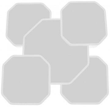 Світильник настінно-стельовий Brille WBL-15/59W NW WH (27-519)