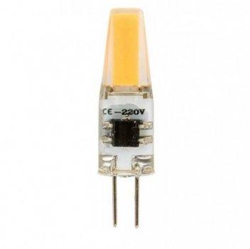 Лампа Lemanso св-ва G4 COB 2W AC 220-240V 200LM 4500K силікон / LM3032