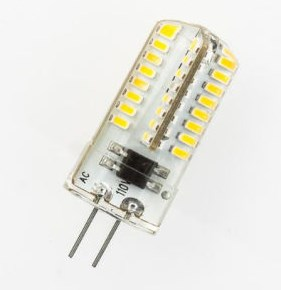 Лампа Lemanso св-ва G4 64LED 3W 230V 220LM 6500K 3014SMD силікон / LM351