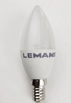 Лампа Lemanso св-ва 5W C37 E14 400LM 4000K 175-265V / LM228