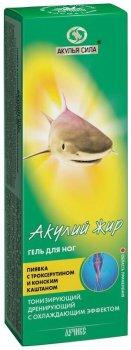 Гель для ног Лучикс Акулий жир, пиявка с троксерутином и конским каштаном Антиварикозный 75 мл (4607010249168)