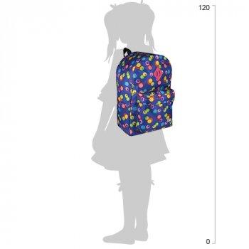 Рюкзак молодіжний Cool For School 43 х 32 х 20 см 28 л Синій (CF85614-11)