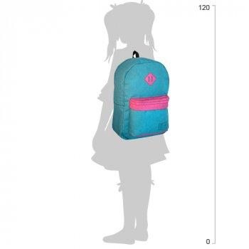 Рюкзак молодіжний Cool For School 43 х 32 х 20 см 28 л Блакитний (CF85614-04)