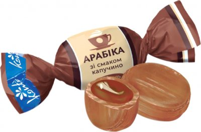 Карамель Konti Арабика со вкусом капучино 1 кг (4823012255130)