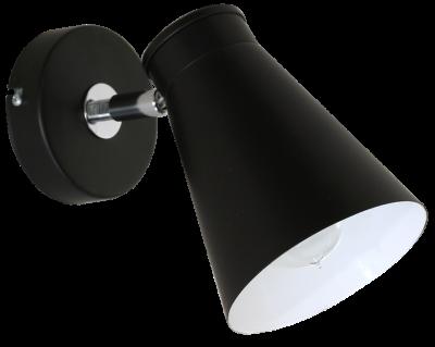 Настінний світильник спот Luminex Bevan Чорний (5035)
