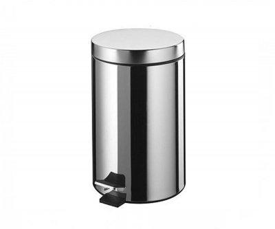 Відро для сміття BISK 7 л, хром (00056)