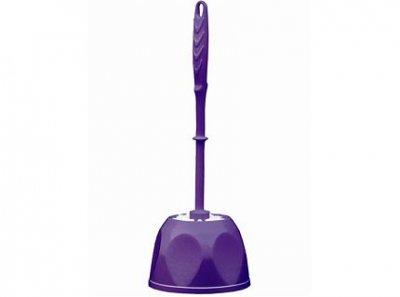 Ершик для унитаза BISK IZA фиолетовый (02896)