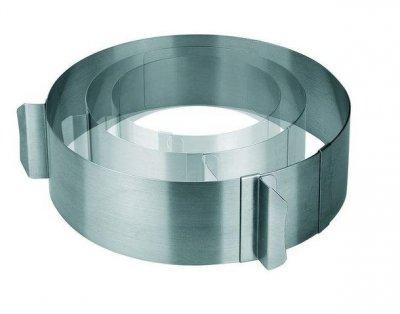 Форма для випічки торта Lacor з нержавіючої сталі розбірна 16-30х7см (68200)