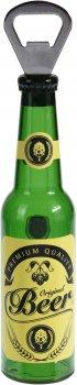 Відкривачка для пляшок з магнітом Excellent Houseware 4x21 см (CY4653050_yellow_beer)