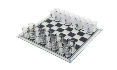 Алко гра п'яні шахи GB зі стопками