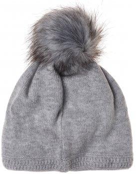Зимняя шапка Maximo 83578-207600 51 см Серая (4060109154475)