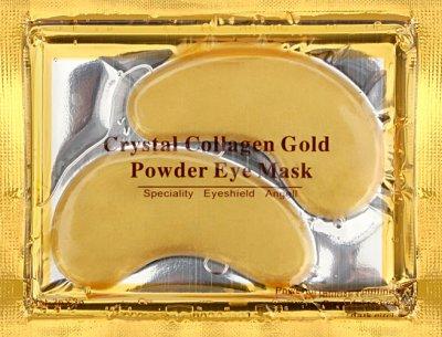 Патчі під очі Crystal Collagen Gold проти зморшок з колагеном і біозолотом 6 г (4820208130325)
