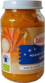 Органічне пюре Babybio з овочів і кіноа з 8 місяців 200 г (3266131500553)
