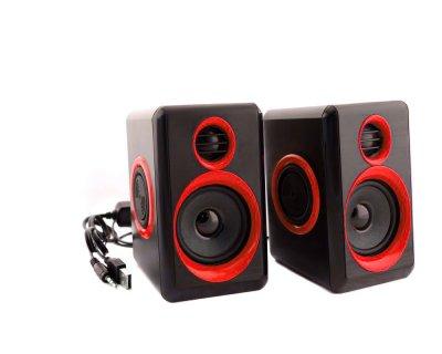 Колонки для ПК комп'ютера F&T FT-165 Black Red