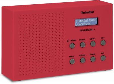 Портативний радіоприймач TechniSat TECHNIRADIO 3, червоний (0002/3925)