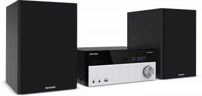 Радіо мінісистема TechniSat DIGITRADIO 750 з CD-плеєром сріблясто-чорна (0000/3919)