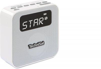 Радіоприймач TechniSat DIGITRADIO FLEX AB+ Digital-Radio зарядний пристрій USB Білий (0001/4994)