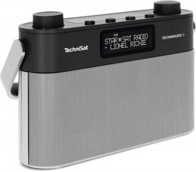 Цифровий радіоприймач TechniSat TECHNIRADIO 8 чорно-сріблястий (0000/3930)