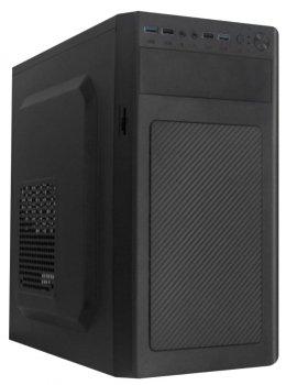 Корпус Logicpower 6116-500W 12см, 2xUSB2.0, 2xUSB3.0, Black