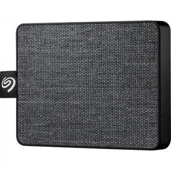 """Накопичувач зовнішній SSD 2.5"""" USB 500GB Seagate One Touch Black (STJE500400)"""
