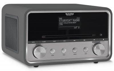 Аудіосистема Цифровий радіоприймач TechniSat DIGITRADIO 580 DAB+ CD/ MP3 рідером, мультирум Антрацит (0000/4977)