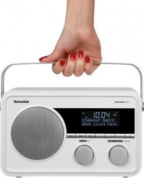 Радіоприймач TechniSat DIGITRADIO 220 портативний білий (0001/4973)