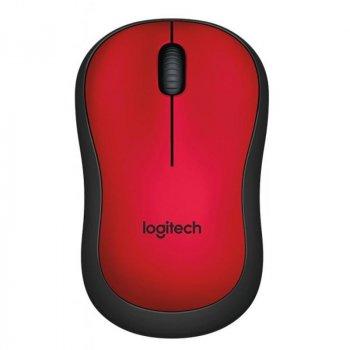 Миша бездротова Logitech M220 Silent (910-004880) Red USB