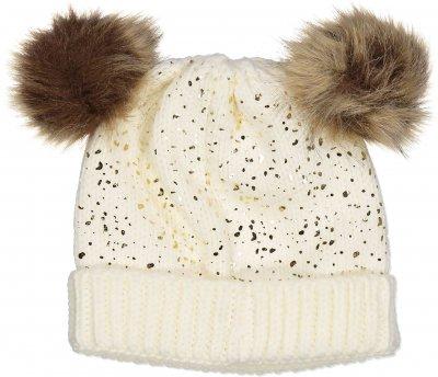 Демисезонная шапка Idexe' M Beige C/Lamina (606587730091Z)
