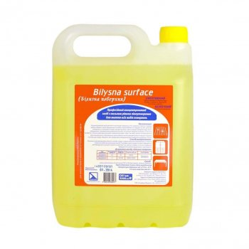 Концентрированное средство для мытья всех видов поверхностей Белизна Поверхность 5 л