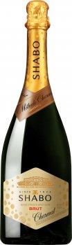 Вино игристое Shabo брют белое 0.75 л 13.0% (4820070402643)