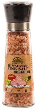 Натуральная гималайская розовая соль Himalayan Chef Крупная 180 г (818581014855)