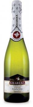 Вино игристое Khareba белое полусухое 0.75 л 12% (4860001191031)