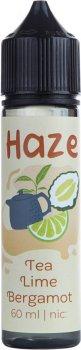 Рідина для електронних сигарет Haze Tea Lime Bergamot (Чай + лайм + бергамот)