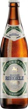 Упаковка пива Riegele Feines Urhell светлое фильтрованное 4.7% 0.5 л х 20 шт (250011047994)