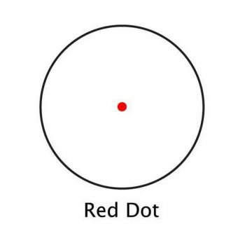 Приціл приціл Barska Red Dot 1x42
