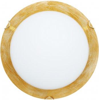 Світильник настінно-стельовий Декора Міраж 24140 золото (DE-44204)