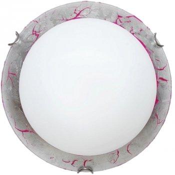 Світильник настінно-стельовий Декора Мрія 24150 срібло (DE-45182)