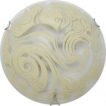 Світильник настінно-стельовий Декора Зеус 24320 жовтий (DE-46137)