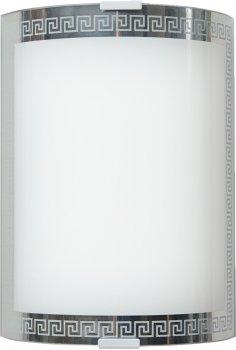 Світильник настінний Декора Гермес 22222 хром (DE-46128)