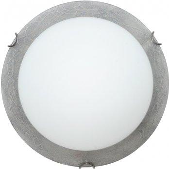 Світильник настінно-стельовий Декора Міраж 24140 срібло (DE-44205)