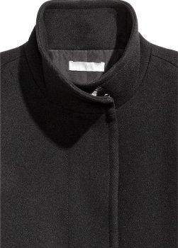 Пальто H&M a31_405977001 Чорне