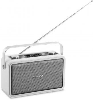 Цифровий радіоприймач TechniSat DIGITRADIO 225 DAB+ портативний білий (0001/4986)