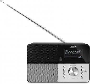 Цифровий радіоприймач TechniSat DIGITRADIO 306 IR DAB+ bluetooth, streaming, инетрент-радіо Чорний (0010/4991)
