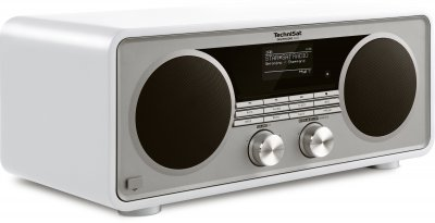 Цифровий радіоприймач TechniSat DIGITRADIO 600 DAB+ CD, bluetooth, streaming, HI-FI Білий (0001/4985)
