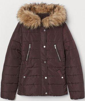 Куртка H&M 755440a51 Коричневая