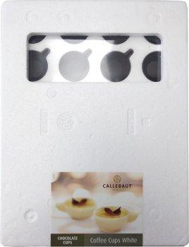 Кофейные чашки из чёрного бельгийского шоколада Callebaut 500 г (5410522545739)