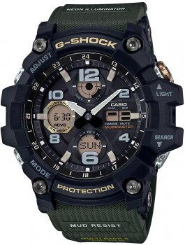 Чоловічий годинник CASIO GWG-100-1A3ER
