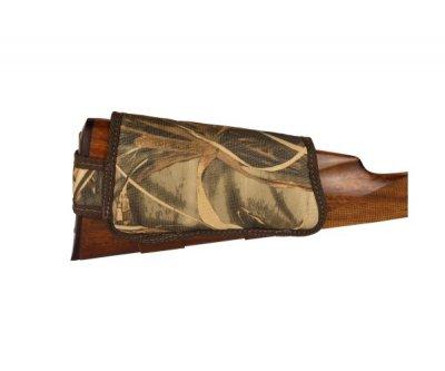 Патронташ на Приклад з Поліестеру Bronzedog Лівша 6 патронів калібр 12/16 Коричневий (8108)