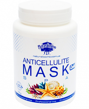 Антицеллюлитная грязевая маска для тела Cold Naturalissimo для коррекции фигуры c мятой и ментолом 700 г (2000000006307)